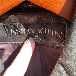 Anne Klein Jackets & Coats - Real leather trench coat
